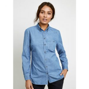 Biz Collection S017LL INDIE LADIES LONG SLEEVE SHIRT
