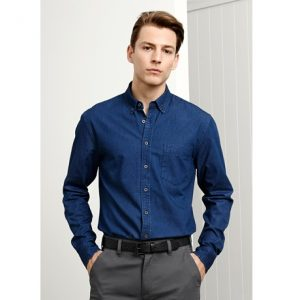 Biz Collection S017ML INDIE MENS LONG SLEEVE SHIRT