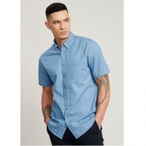 Biz Collection S017MS INDIE MENS SHORT SLEEVE SHIRT