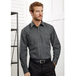 Biz Collection S306ML MENS BONDI LONG SLEEVE SHIRT