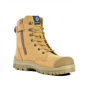 BATA Industrials 804-80851 Defender Zip Wheat