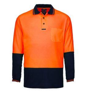 Ritemate RM2346 Hi Viz Polo L/S