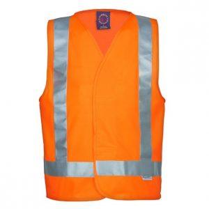 Ritemate RM4245T Hi Viz Vest With Reflective Tape