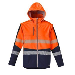 Syzmik ZJ453 Unisex 2 in 1 Stretch Softshell Taped Jacket
