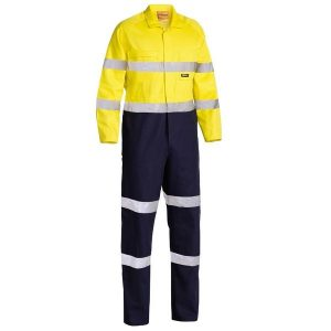 Bisley BC6357T Taped Hi Vis Drill Coverall