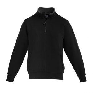 Syzmik ZT366 Mens 1/4 Zip Brushed Fleece