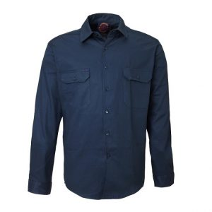 Ritemate RM1000 Open Front L/S Shirt