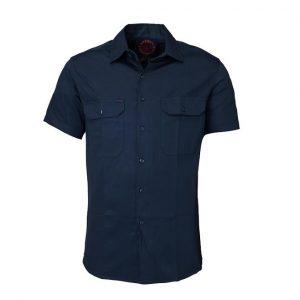 Ritemate RM1000S Open front short sleeve shirt