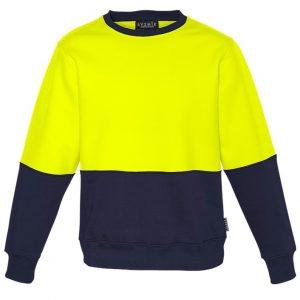 Syzmik ZT475 Unisex Hi Vis Crew Sweatshirt