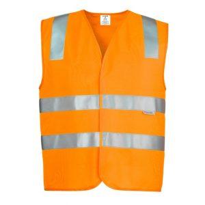 Syzmik ZV999 Unisex Hi Vis Basic Vest
