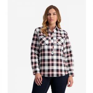 Swanndri SE18225W Women's Egmont Long Sleeve Cotton Shirt Twin Pack
