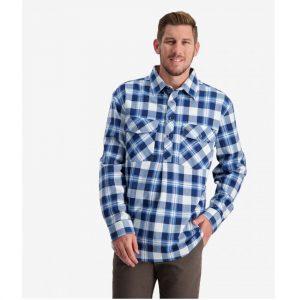 Swanndri SSE2232A Egmont 1/2 Placket Shirt