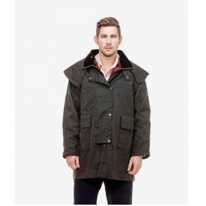 Swanndri SW194024M Baxter Oilskin Short Coat
