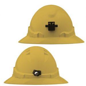 PRO CHOICE HH6FBLB V6 HARD HAT UNVENTED FULL BRIM + LAMP BRACKET RATCHET HARNESS